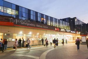 Кассы на Ярославском вокзале из сэндвич панелей