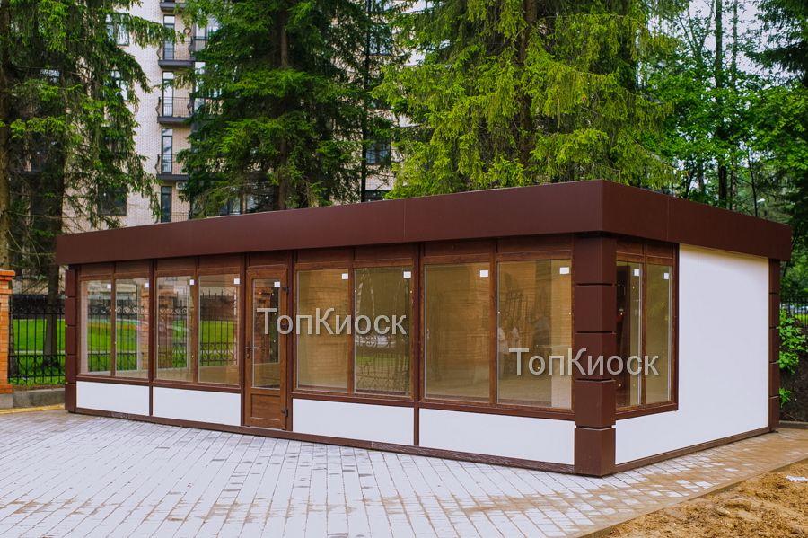 Модульный торговый павильон для продажи церковных пренадлежностей