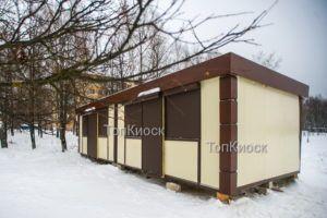 Павильон/ киоск в отделке АКП