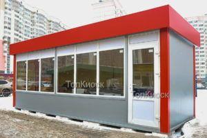 Торговый киоск 7-3 м