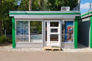Торговые павильоны (фото). Продуктовый магазин от topkiosk.ru в Королеве