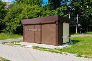 Торговый павильон утепленный в городе Щелково