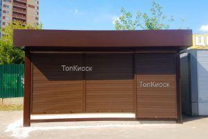 Торговый павильон утепленный в городе Лыткарино