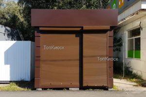 Торговый павильон утепленный с фризом в городе Щелково