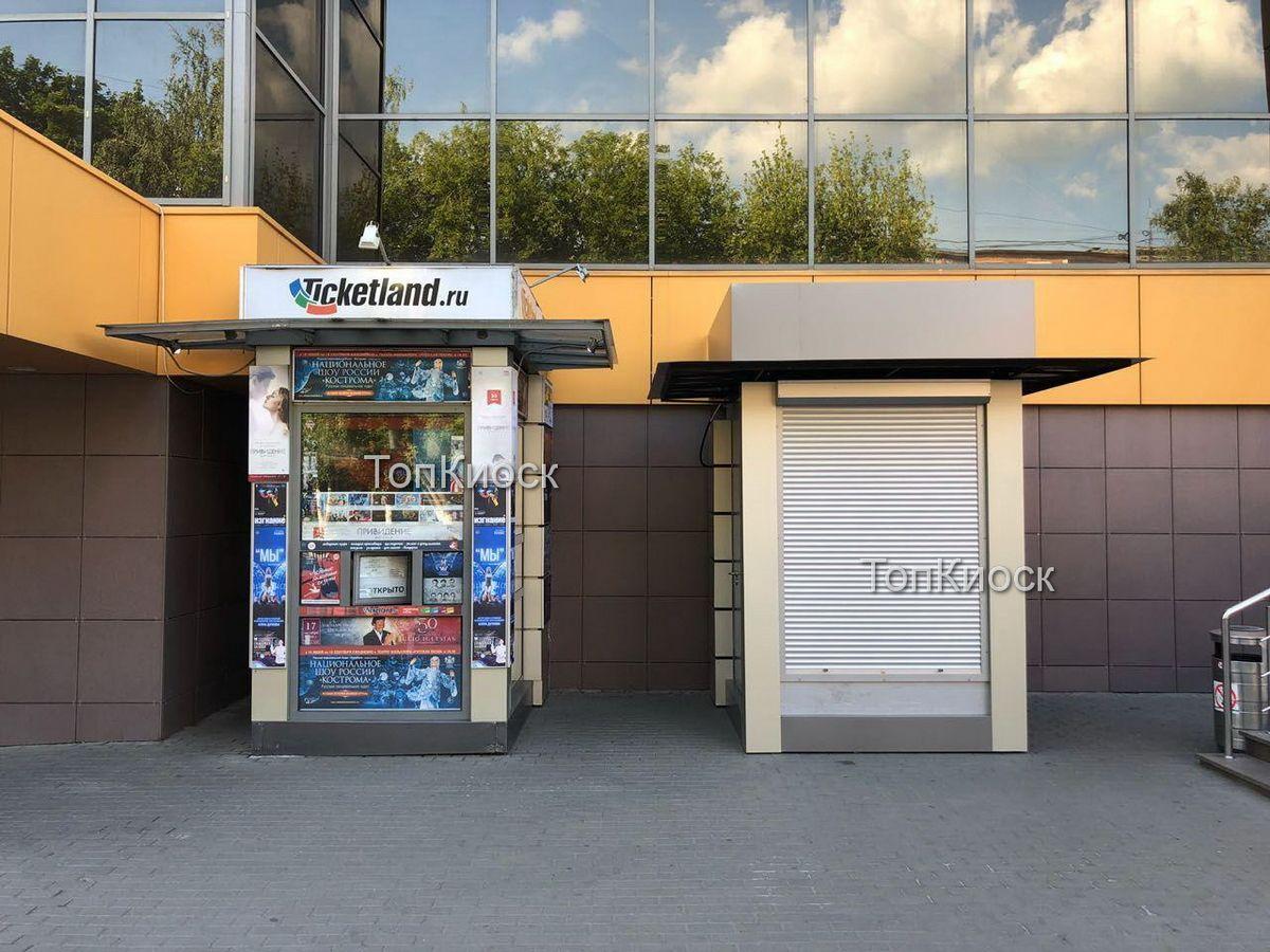 Билетные кассы. Торговый павильон в городе Подольск под лотерейные билеты