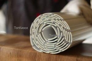 Алюминиевое полотно рольставень