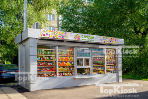 Ларек для продажи фруктов и овощей