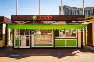 Павильон в городе Щелково под продажу хлебной продукции