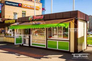 Палатка для продажи выпечки и хлеба