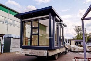 Перевозка павильонов нового типа НТО города Москва