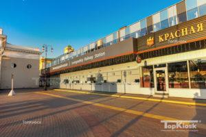 Билетные кассы Ленинградского вокзала