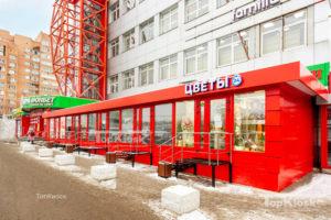 Цветочные павильоны красный павильон в городе Балашиха