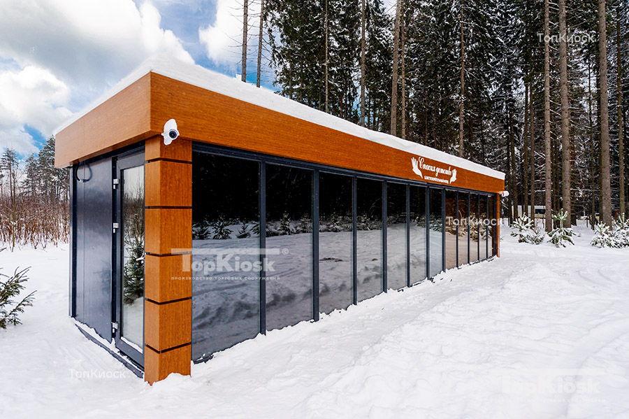 Павильон для проката лыжного снаряжения