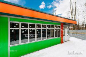 Магазин зеленый для продуктов питания