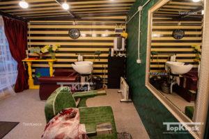 Необычный ремонт салона-парикмахерская